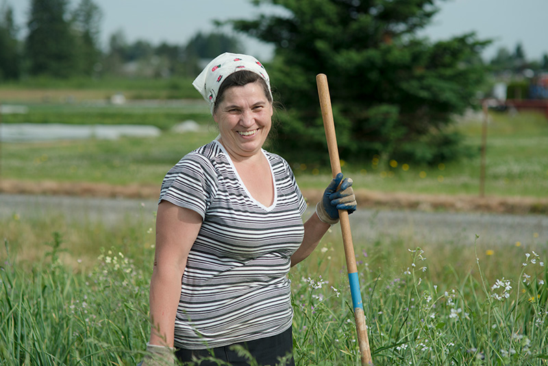 Headwaters farmer smiling