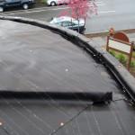 laying tar paper