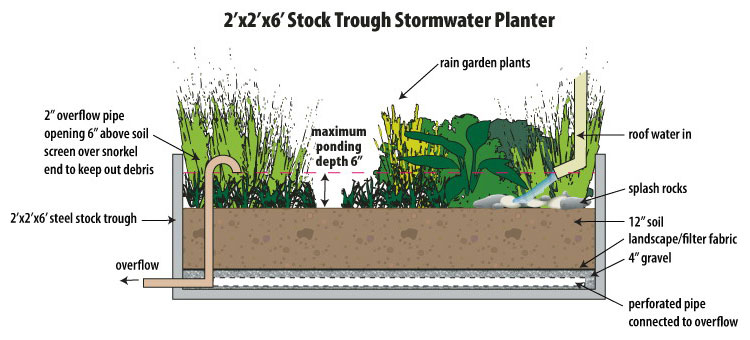 Stormwater Planters | EMSWCD