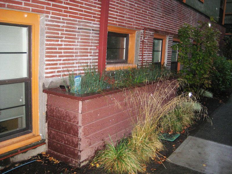 stormwater planter