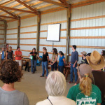 Tour participants share what they learned at the 2014 NIFTI Field School