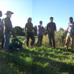 NIFTI Field School participants tour the farm and facilities at Refuge Gardens