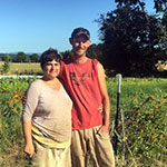 Pete Munyon and Claire Lutts : Udan Farm