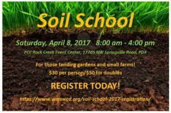 Soil School 2017
