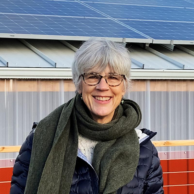 our new Executive Director, Nancy Hamilton